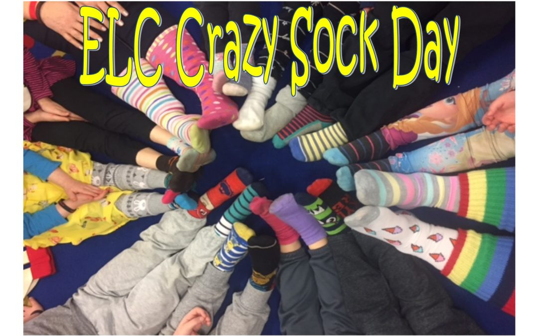 ELC Crazy Sock Day